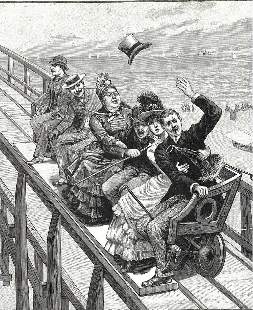 2018 CONEY'S 6 M.P.H. COASTER OF FEAR (1884)