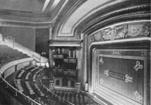 Halsey Theatre interior shot.
