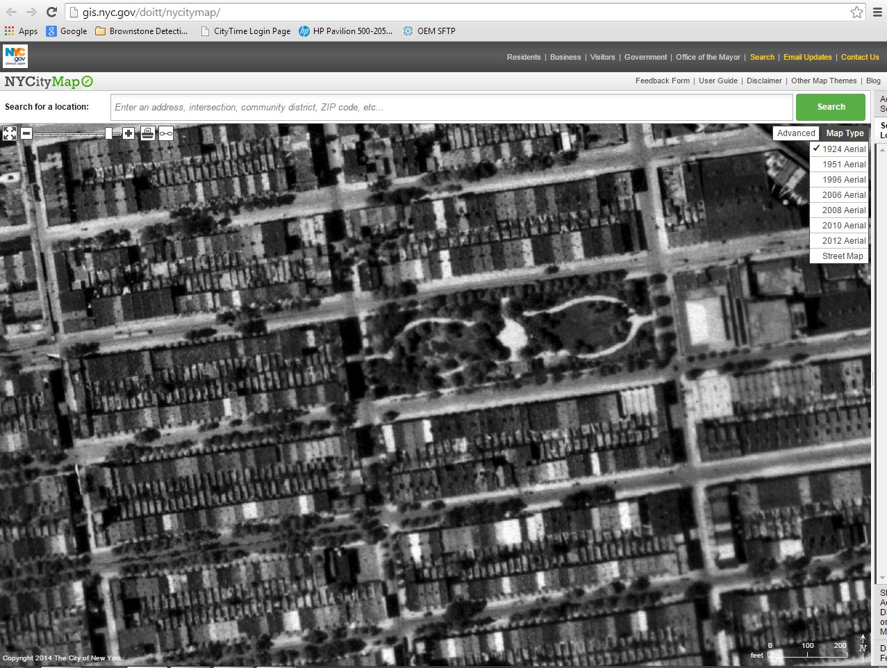 Doitt Nyc Map.Finding Your Brownstone In 1924 The Brownstone Detectives